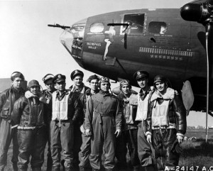 Leadership Crew of the Memphis Bell WWII x5