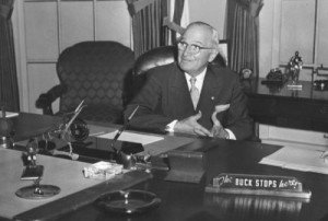The Buck Stops Here Harry Truman