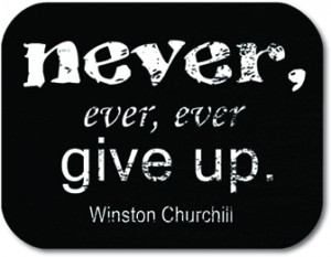 Never Give Up 4x4